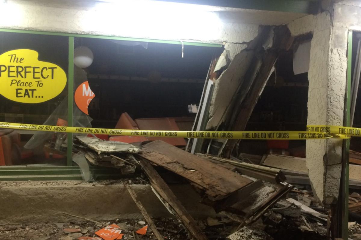 Dual weekend car crashes demolish two popular eastside restaurants cindys eagle rock twitter altavistaventures Images