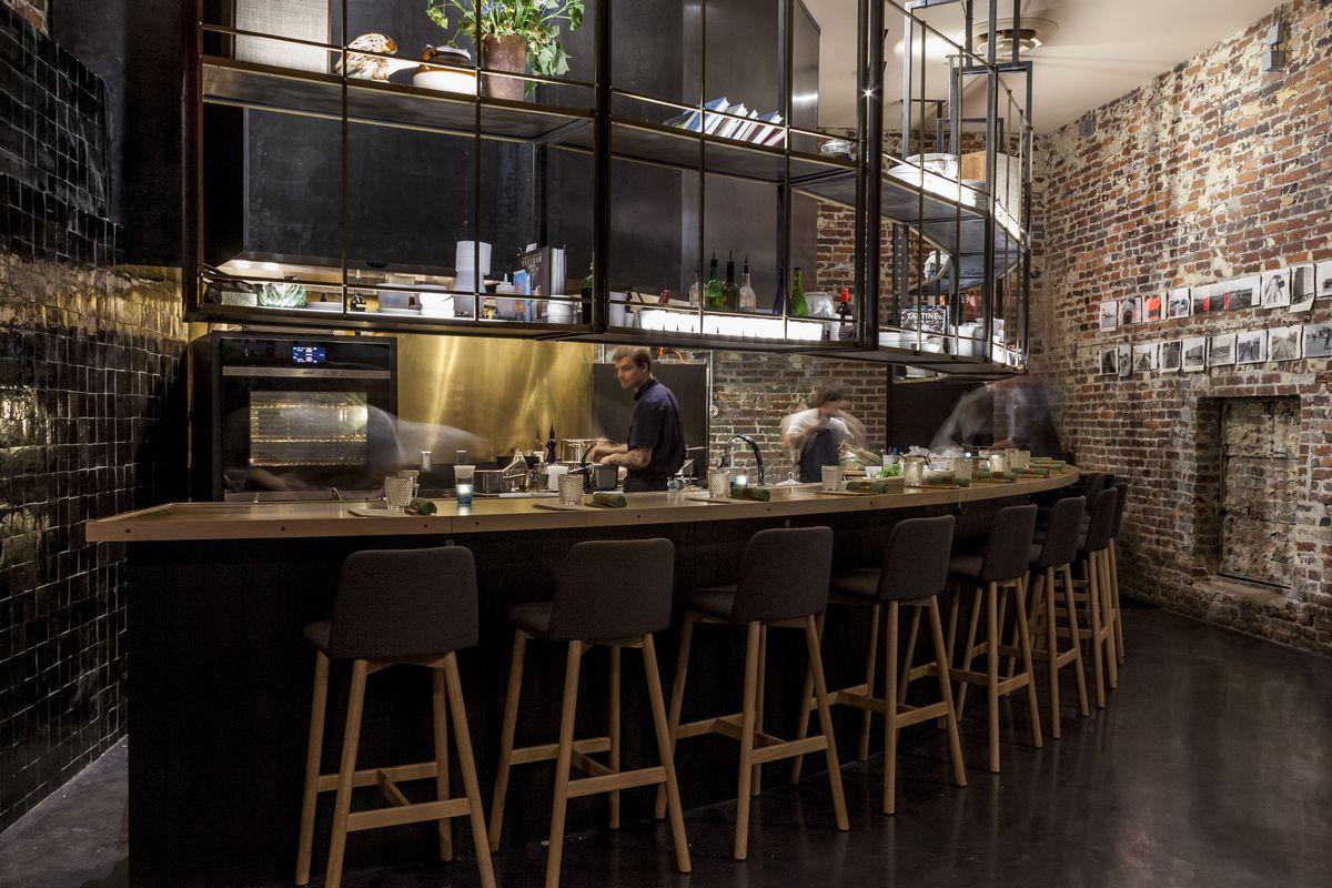Bastion Restaurant Eater Nashville Sam Angel