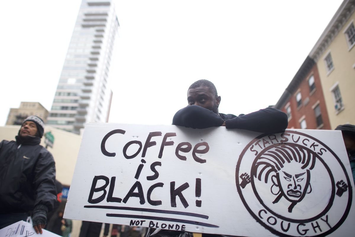 Starbucks arrests: CEO says company will close all 8,000 US coffee ...