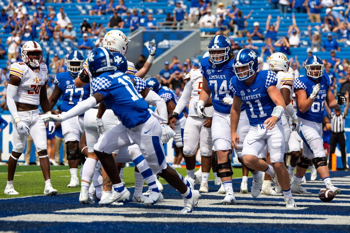 NCAA Football: UL Monroe at Kentucky
