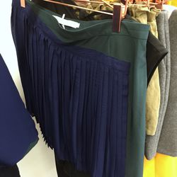 Shades of Grey by Micah Cohen asymmetric pleated skirt, $50 (was $100)