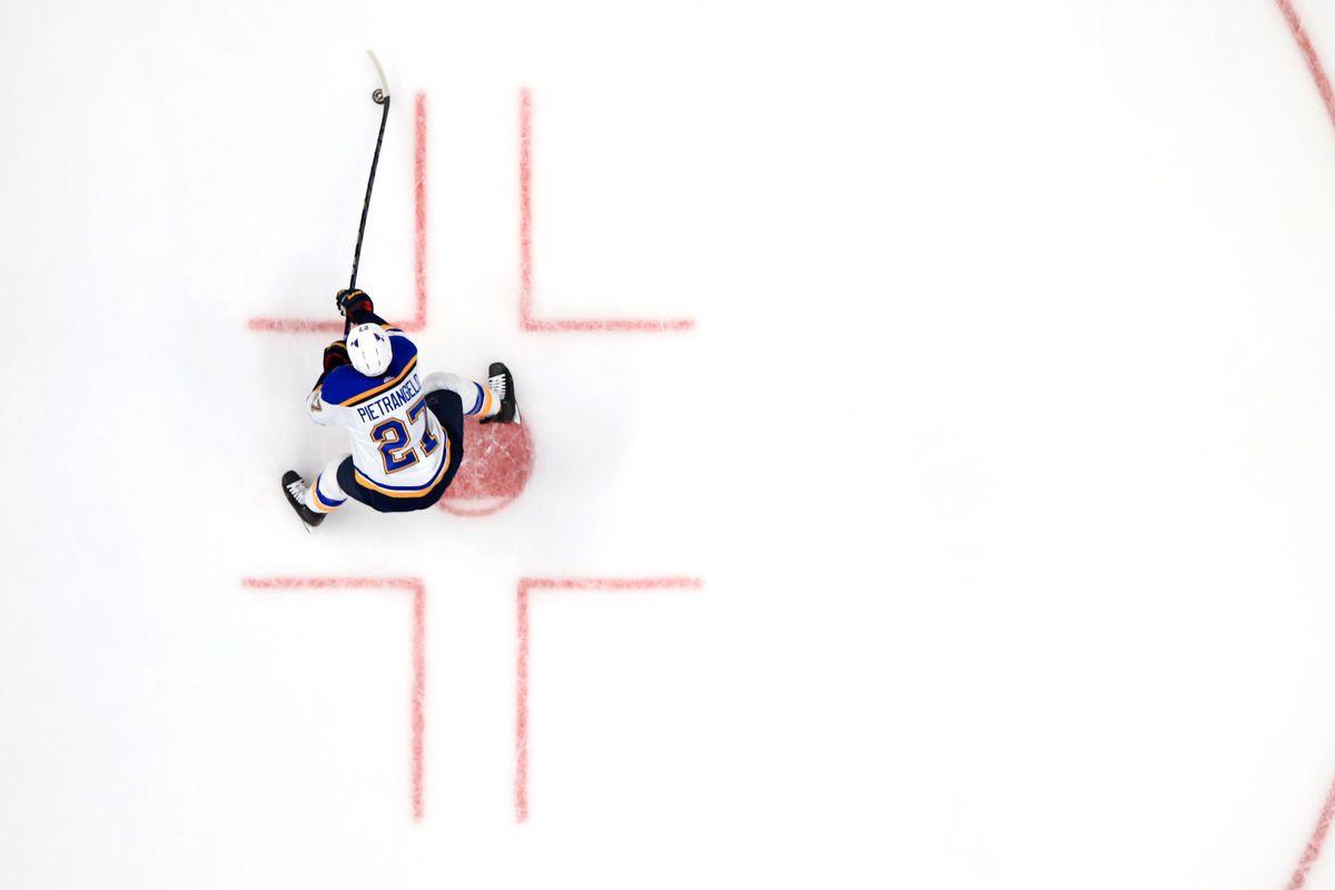 St Louis Blues v Anaheim Ducks