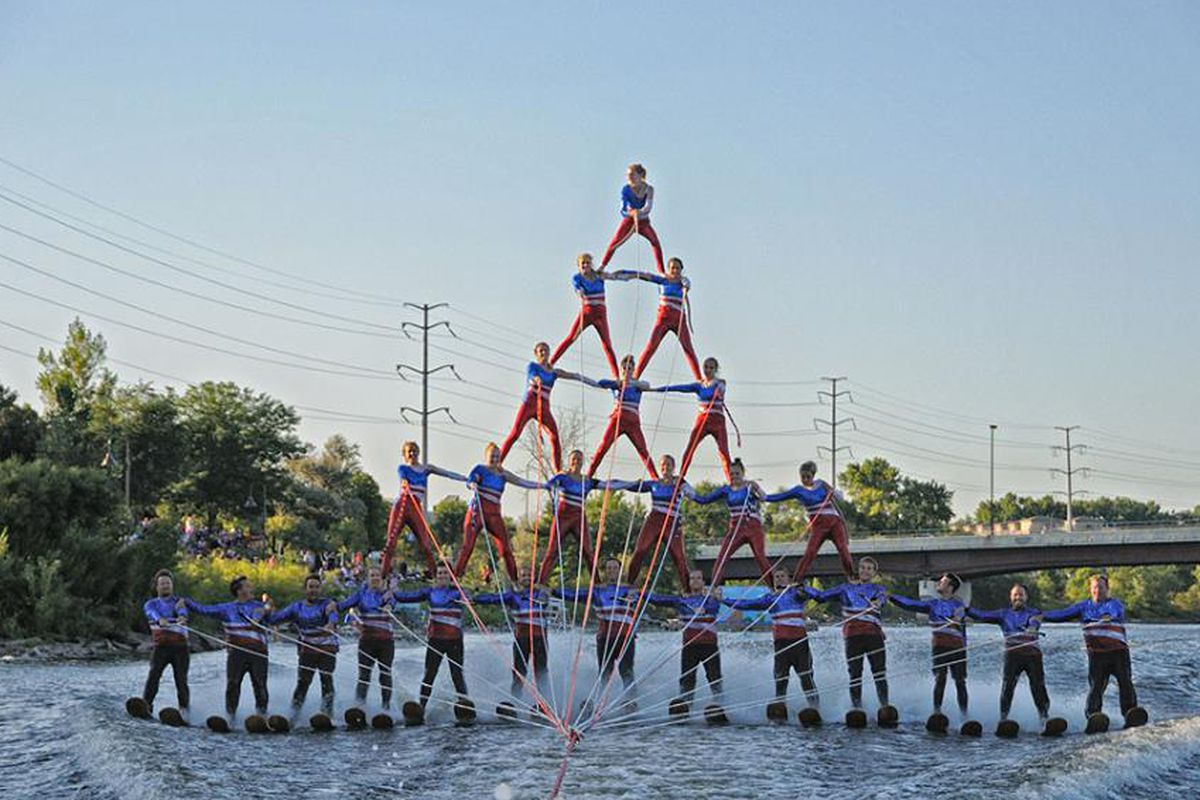The Aquatennial is always a high flying time.