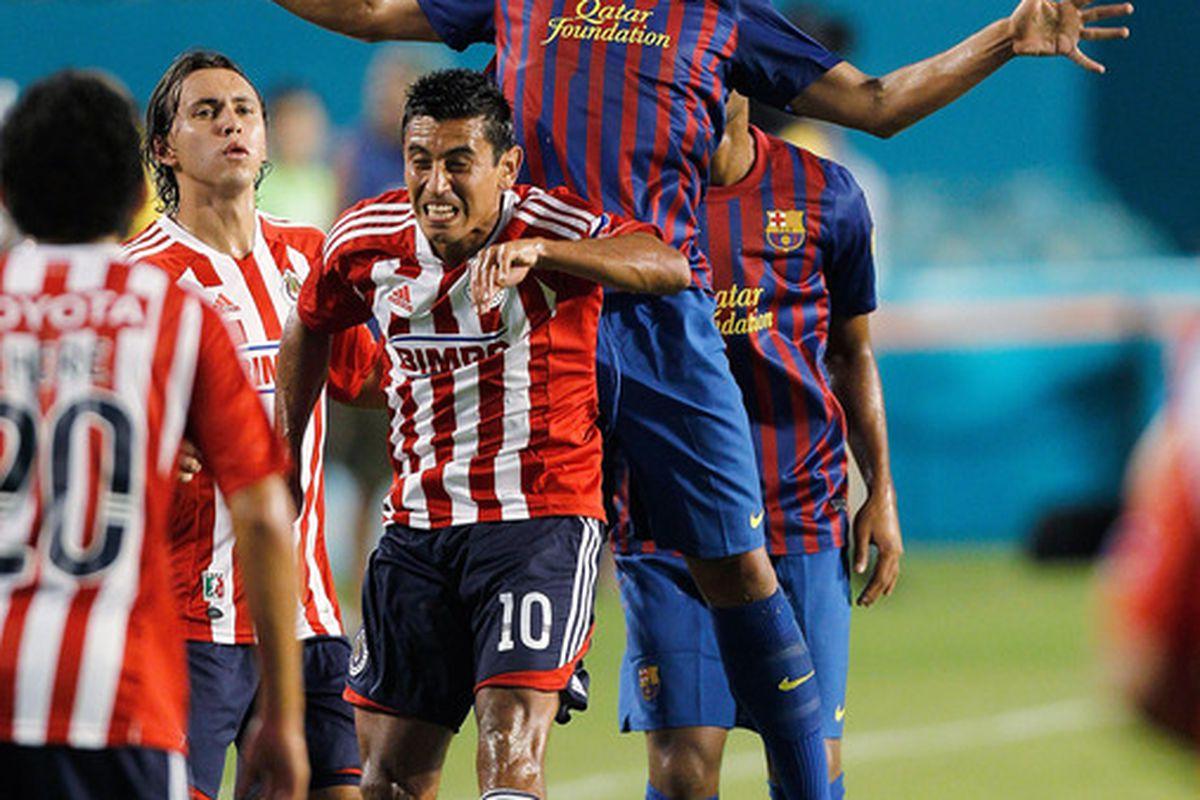 Jonathan dos Santos could begin to break into both El Tri and Barcelona in 2012.