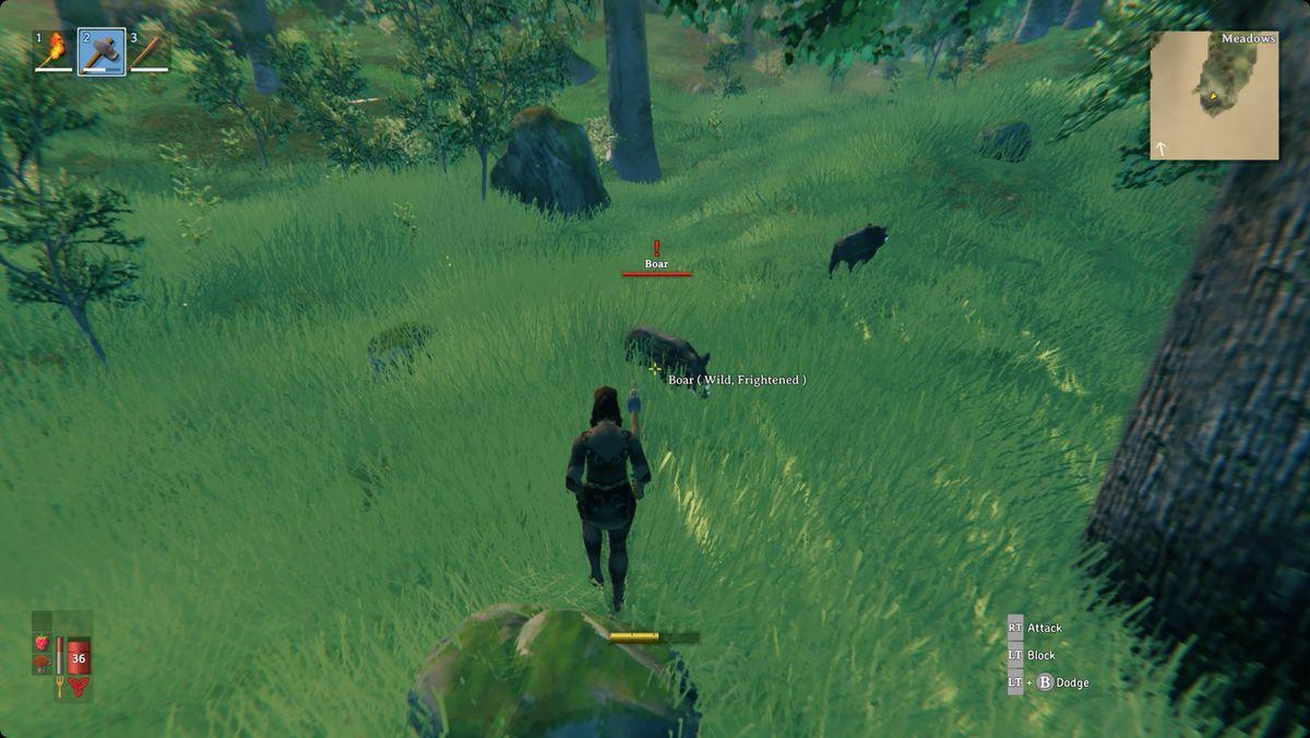 Valheim hunting boar