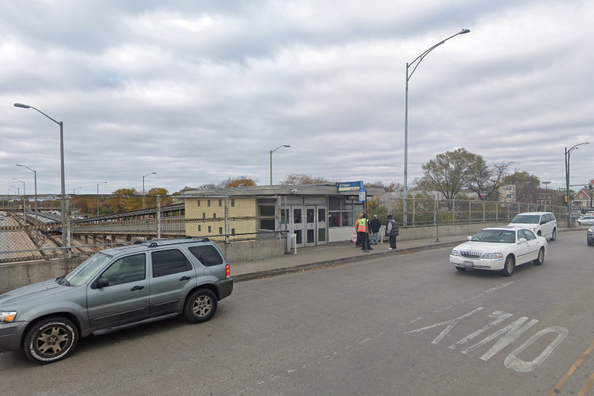 Two people were robbed in February near the Pulaski Blue Line station, 530 S. Pulaski Rd.