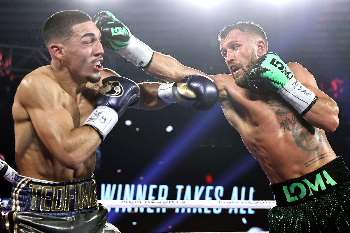 Pros react to Teofimo Lopez vs. Vasiliy Lomachenko showdown - MMA Fighting