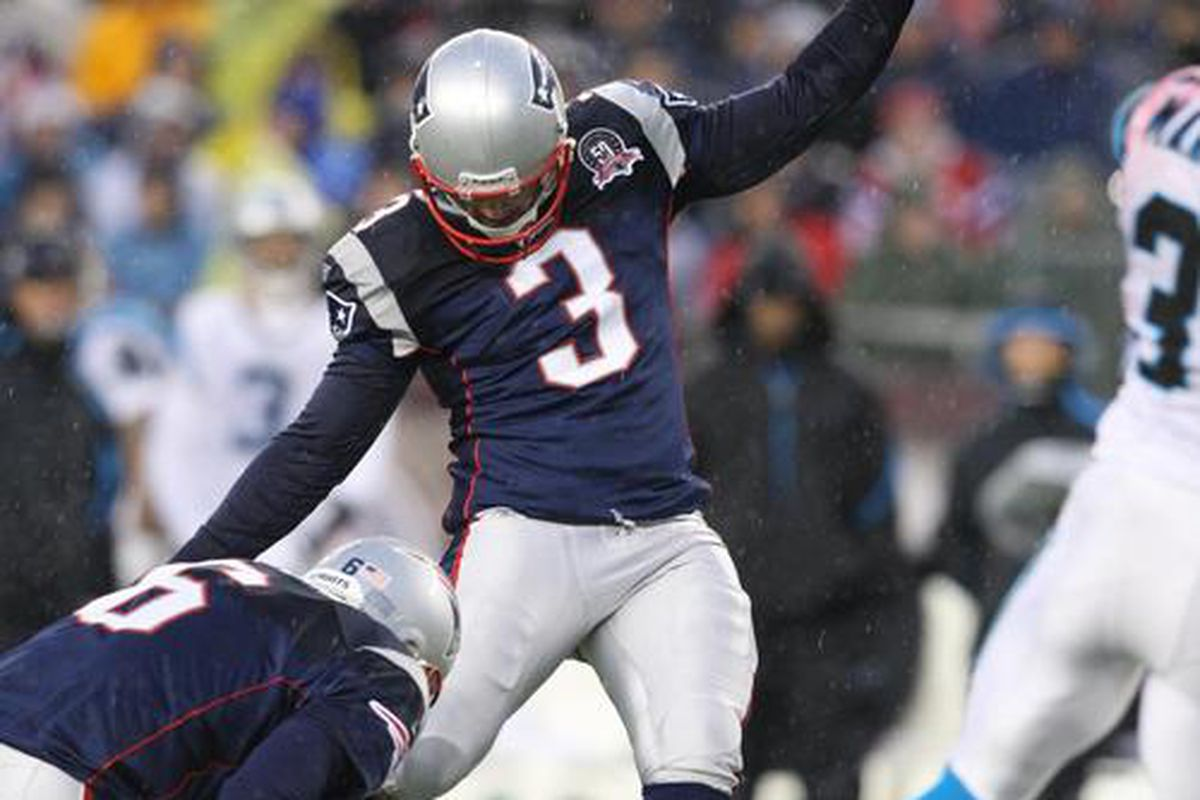 <em>Stephen Gostkowski signed his RFA tender and will be kicking off for the Patriots for at least another year</em>.