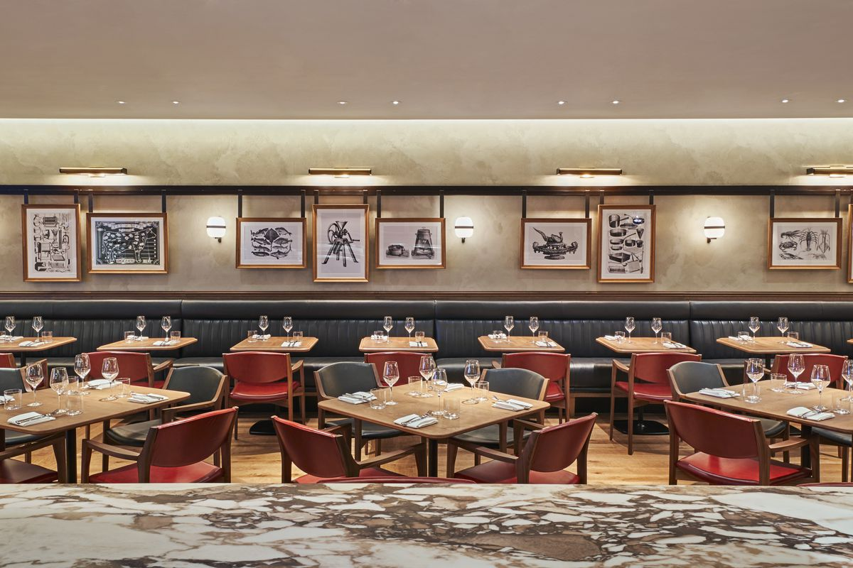 Gridiron restaurant on the Met Bar site on Park Lane in Mayfair, to be opened by Hawksmoor's Richard Turner and Colin McSherry of Nuala