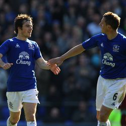 Jagielka was a regular in the starting XI by the time the 2010-11 season rolled around
