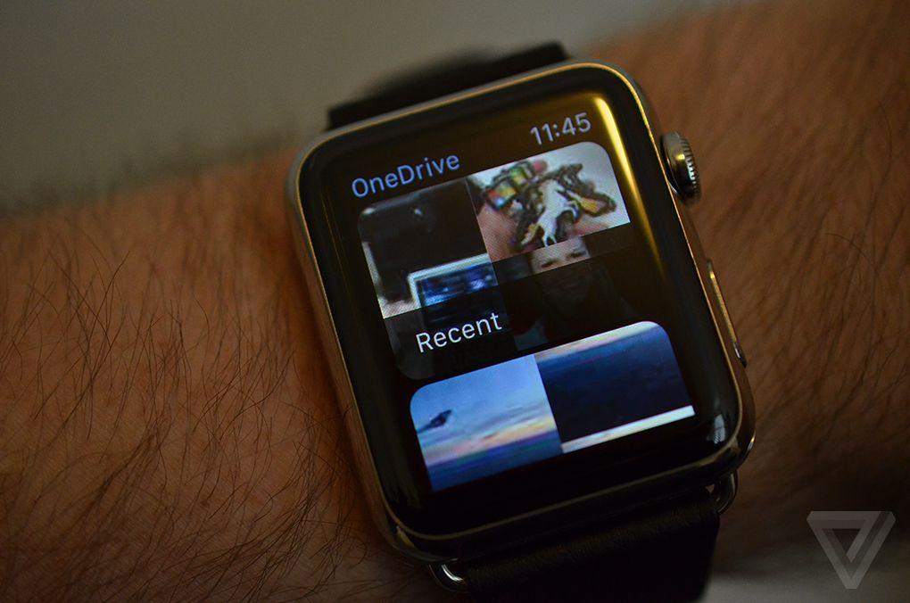Apple Watch OneDrive