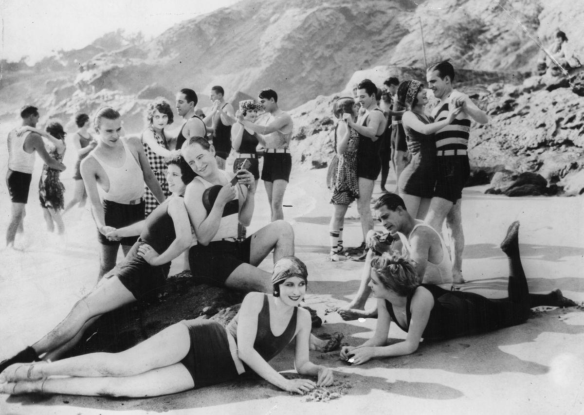 Beach party! (Circa 1930)