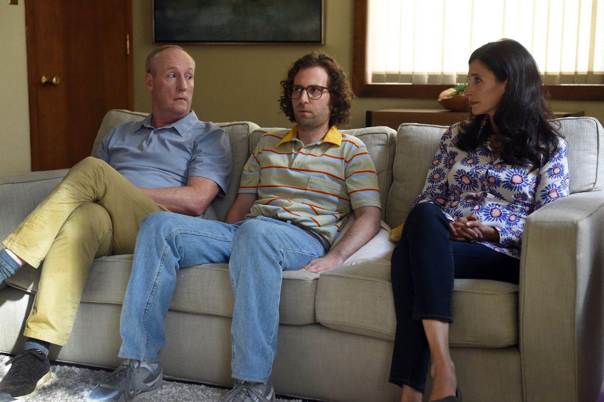 Matt Walsh, Kyle Mooney, and Michaela Watkins in Brigsby Bear