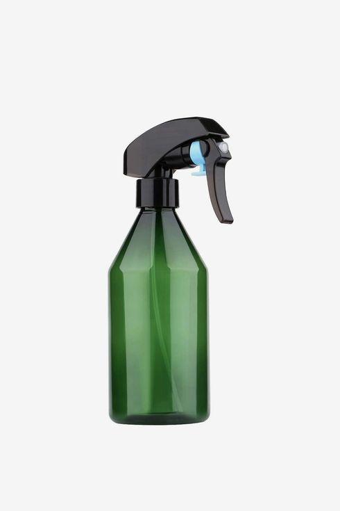 Green spray bottle.