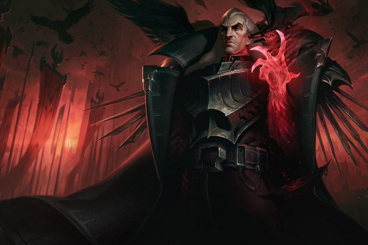 League of Legends - Swain splash art
