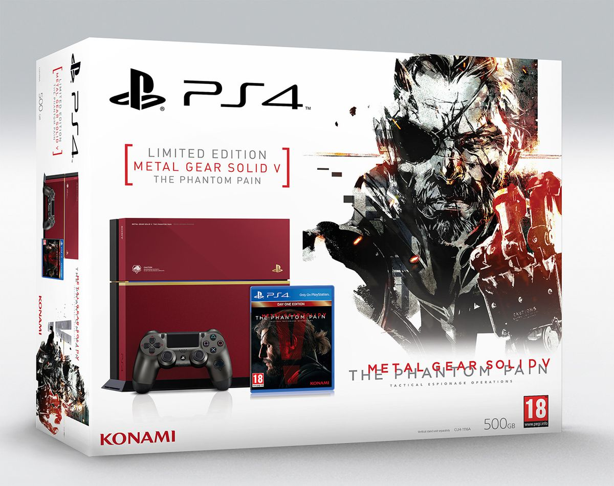 Metal Gear Solid 5 limited edition PS4 bundle box 1280
