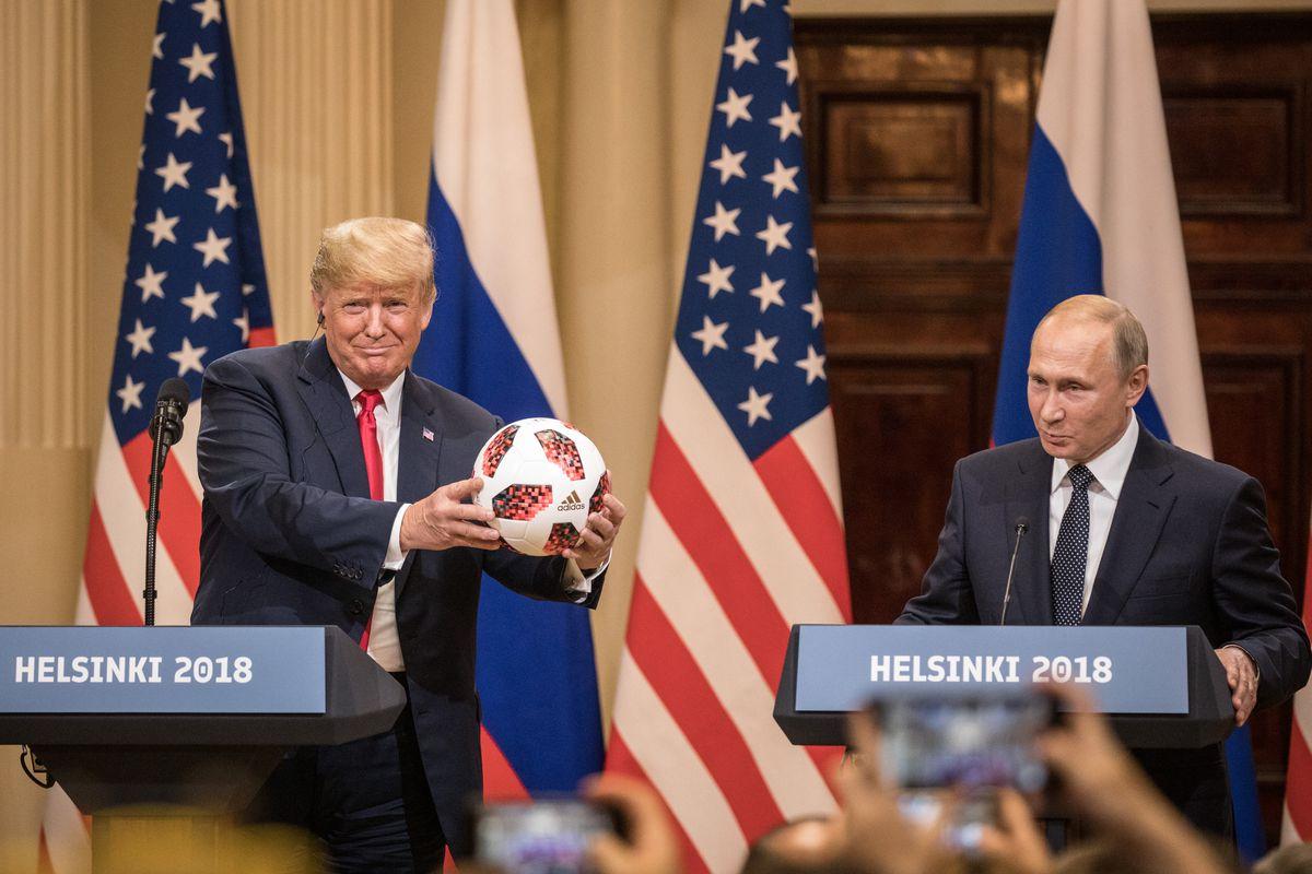 U.S. President Donald Trump and Russian President Vladimir Putin