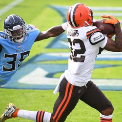 December 2020: In Week 13, the Browns stunned the entire NFL by jumping out to a 38-7 first-half lead against the Titans, which included 4 first half touchdown passes by Baker Mayfield. Cleveland fans sweated heavily with the fact that Tennessee out-scored the Browns 28-3 in the second half, making the final score 41-35, but no one else in the national media cared about that. The Browns improved to 9-3 on the season.