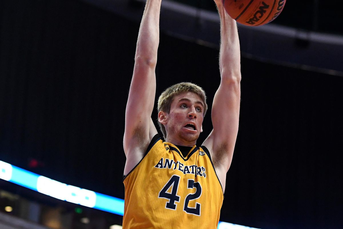 N'Diaye is long gone, but Tommy Rutherford is still ballin' for the Anteaters.