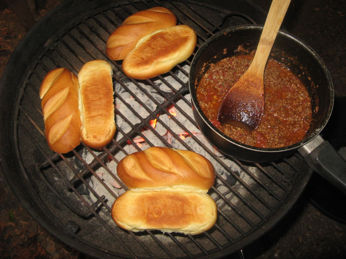 Chili on Grill