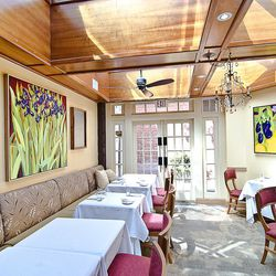 Between the Bistro and the Tasting Room, it's possible to achieve just about any atmosphere you like at Restaurant Eve. A certain airiness of can make it feel as close to the farm as Cathal Armstrong's ingredients, while the ornate couches of the dining r