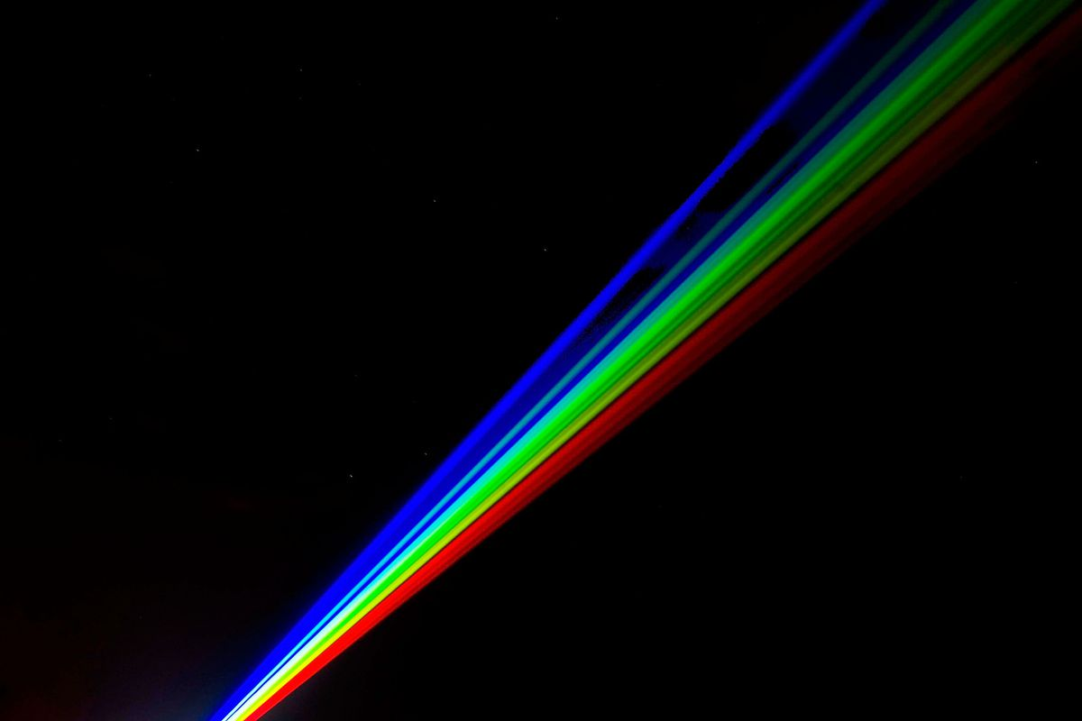 The experiment will convert laser light into particles of matter.