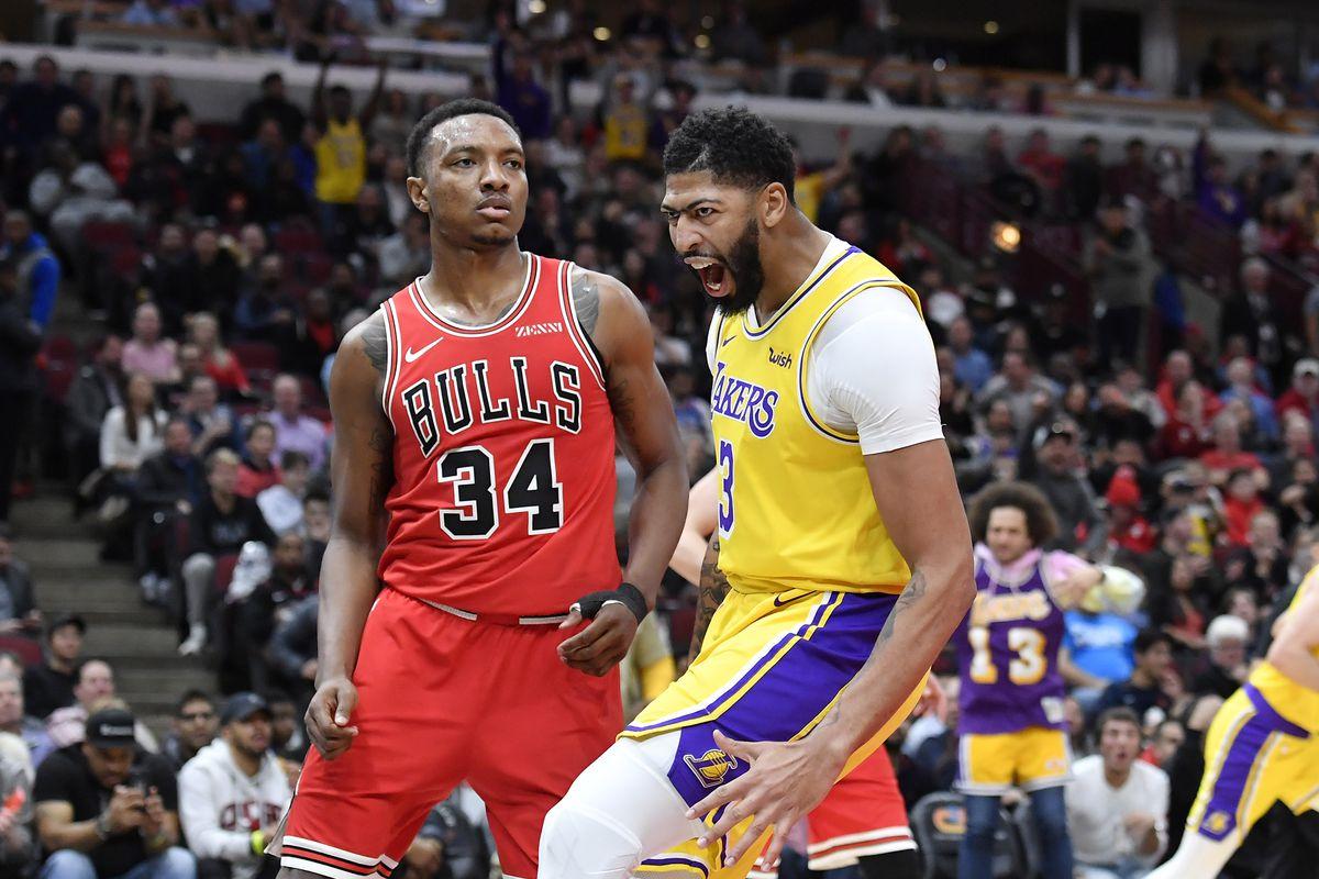 NBA: Los Angeles Lakers at Chicago Bulls