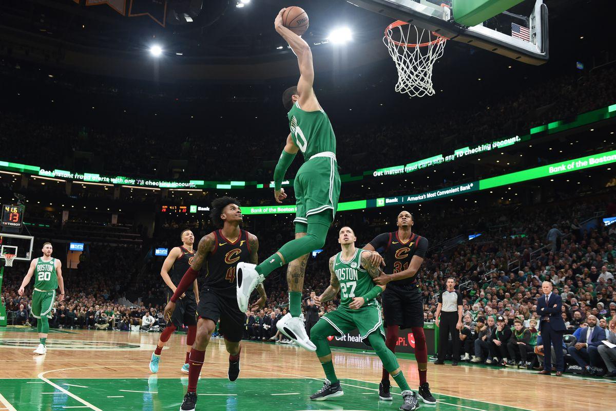 NBA: Cleveland Cavaliers at Boston Celtics