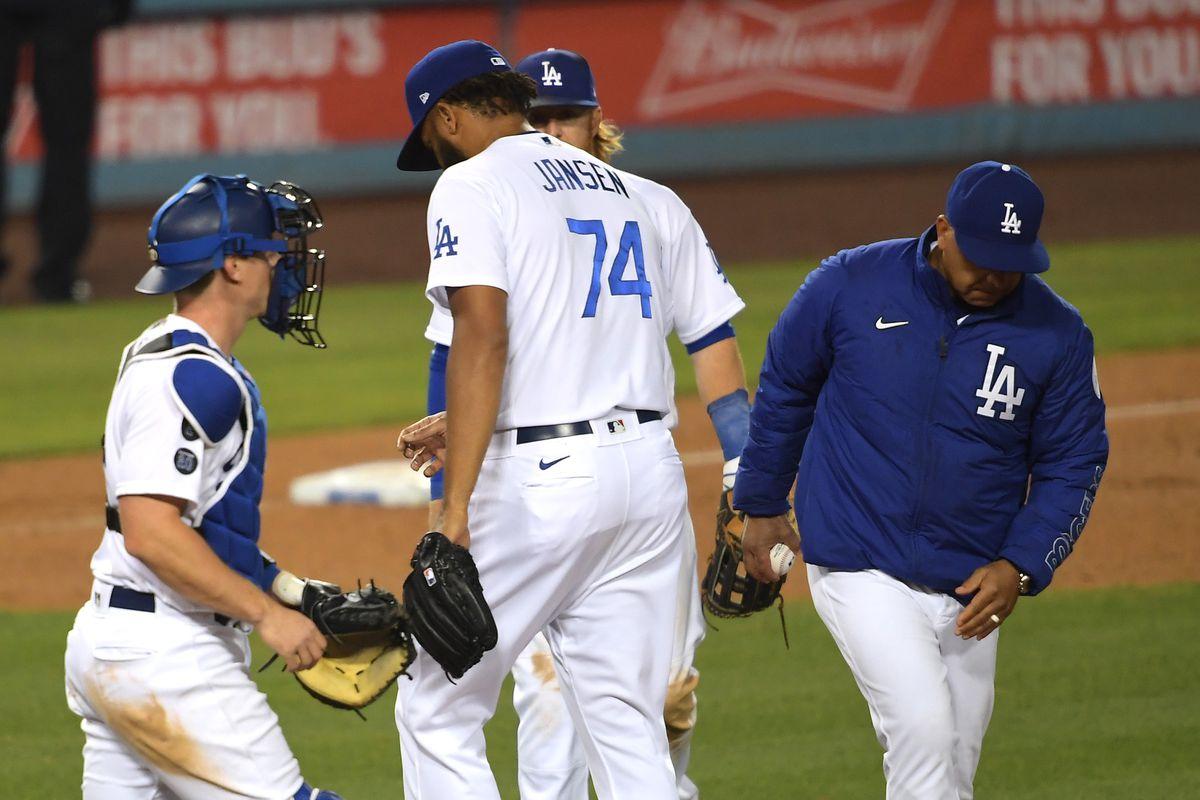 MLB: San Francisco Giants at Los Angeles Dodgers