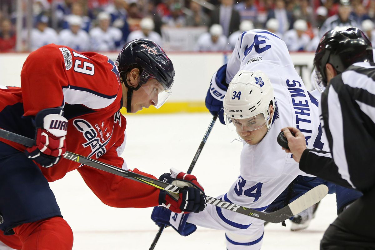 NHL: Stanley Cup Playoffs-Toronto Maple Leafs at Washington Capitals