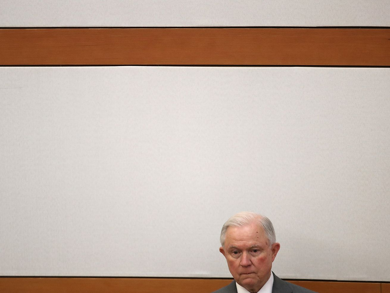 Jeff Sessions in September 2018. His days as attorney general may be numbered.