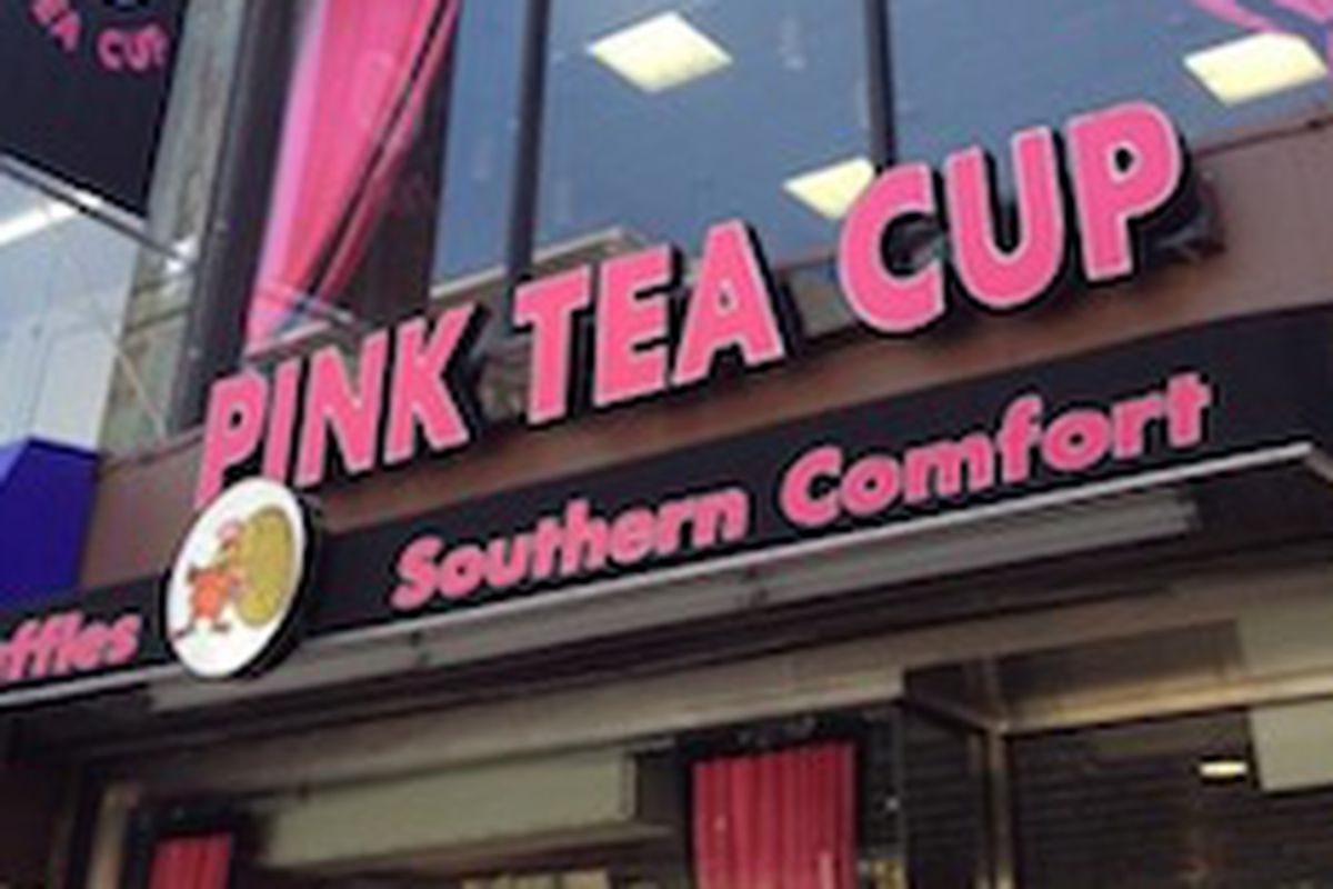Another Move For Pink Tea Cup This Time To Brooklyn Eater Ny