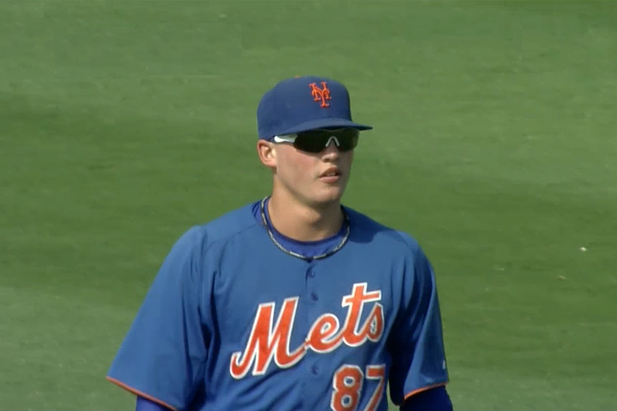 2011 Mets first rounder Brandon Nimmo will be manning center field at MCU Park this summer.