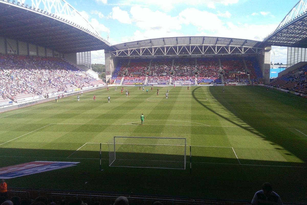 DW Stadium, Wigan v Reading
