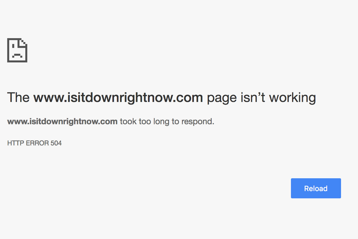 Is It Down Right Now is down right now - The Verge