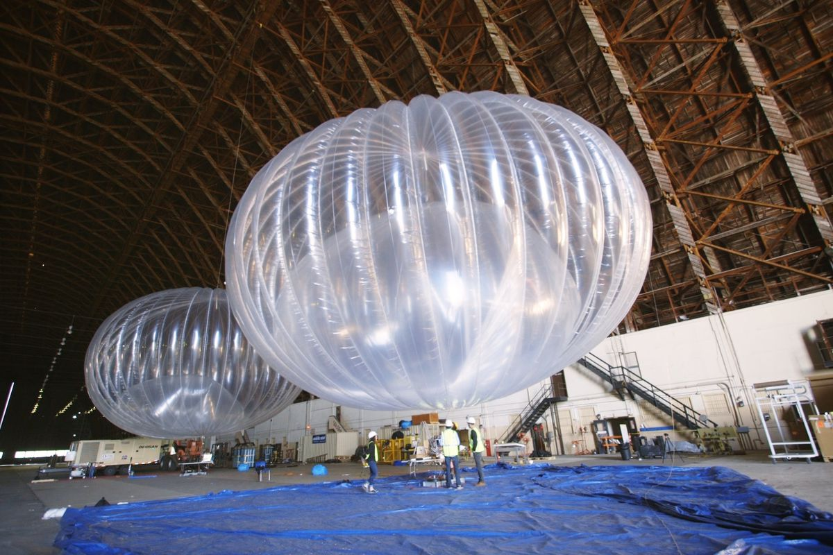 This Company Claims Google Stole The Balloon Wi Fi Tech