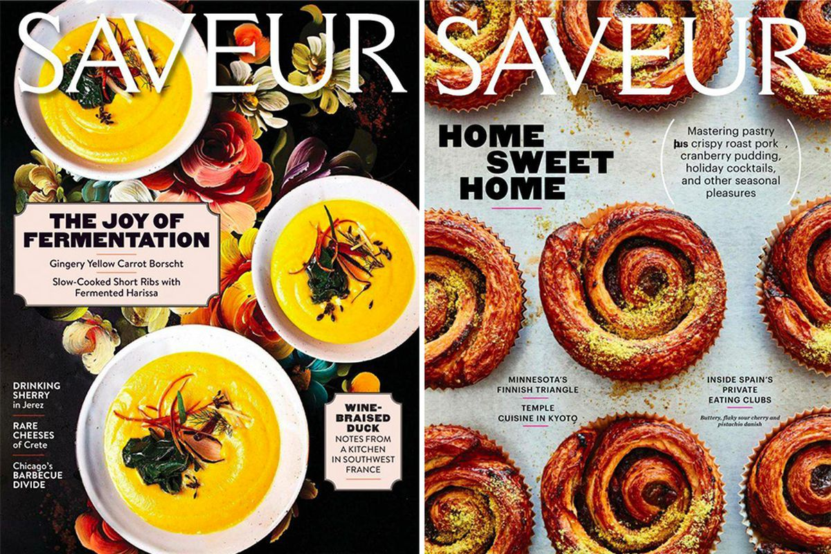 Saveur magazine gutted in a round of layoffs eater saveur the 24 year old food and wine publication just took a major hit in a round of layoffs committed by its parent company bonnier corp forumfinder Images