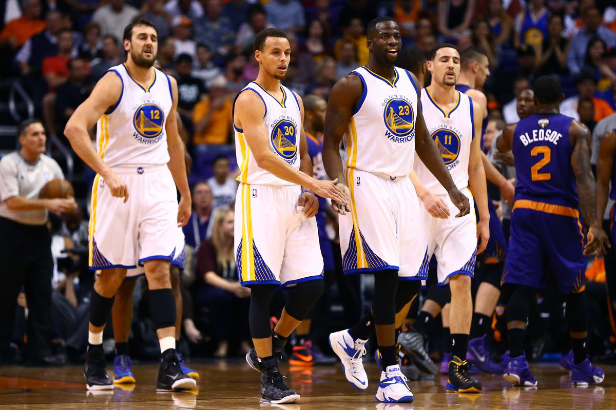 the 2014-2015 golden state warriors are the ssol phoenix suns