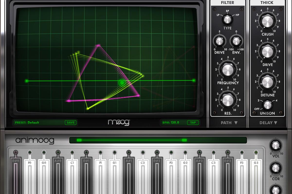 Animoog screenshot