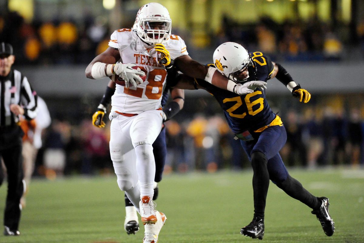 The Longhorns will put the ball in the hands of Malcolm Brown more now with Johnathan Gray out for the year.