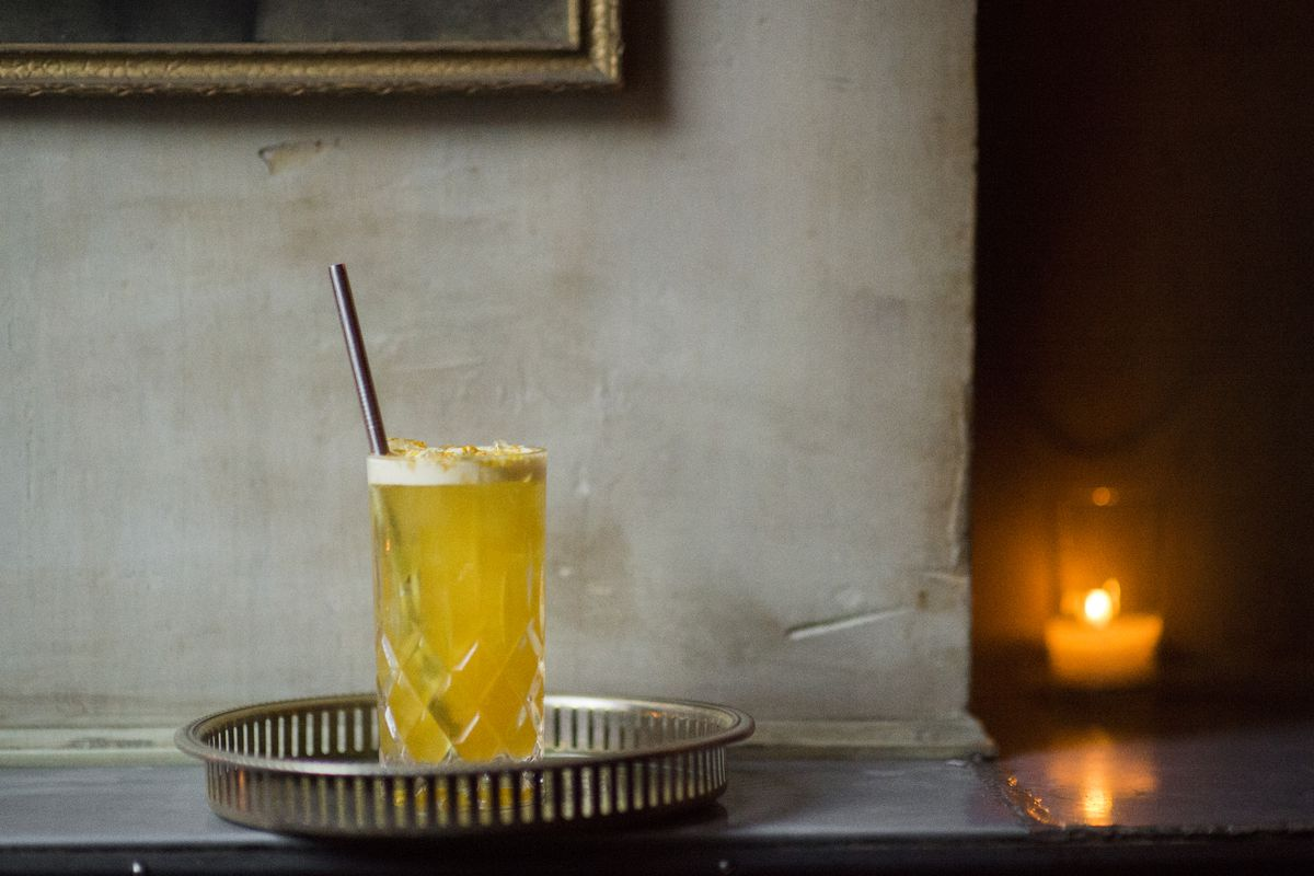 [A cocktail from Maison Premiere]