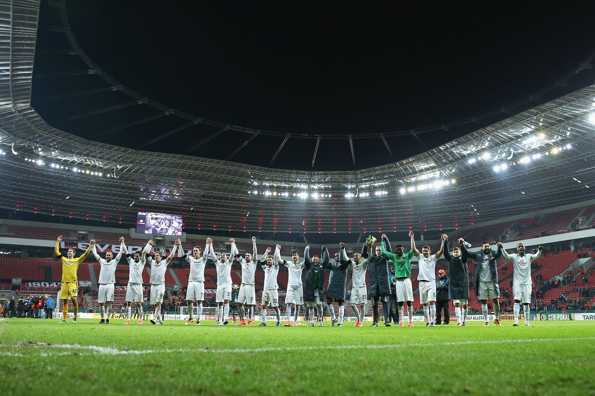 Werder Bremen remains the surprise team in the DFB-Pokal.