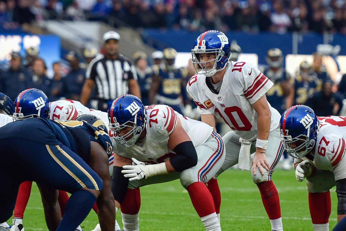 NFL: International Series-New York Giants at Los Angeles Rams