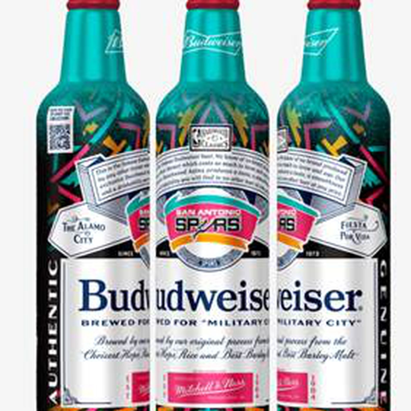 Budweiser launches Spurs-themed packaging - Pounding The Rock