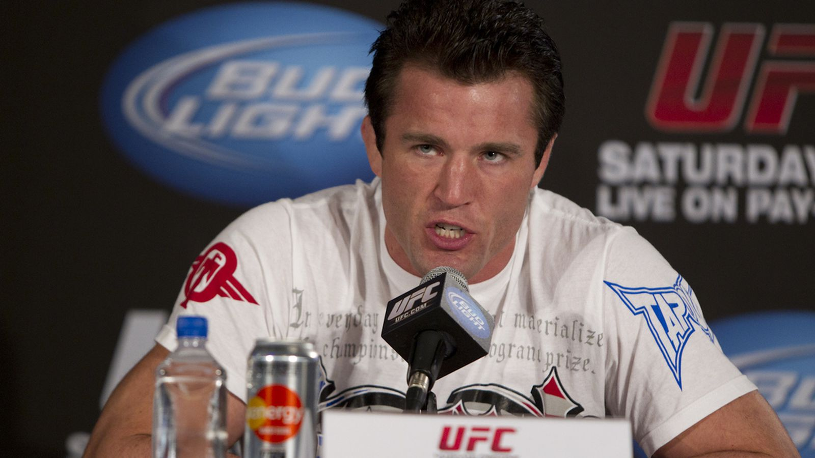 in search of the real chael sonnen on the mean streets of west