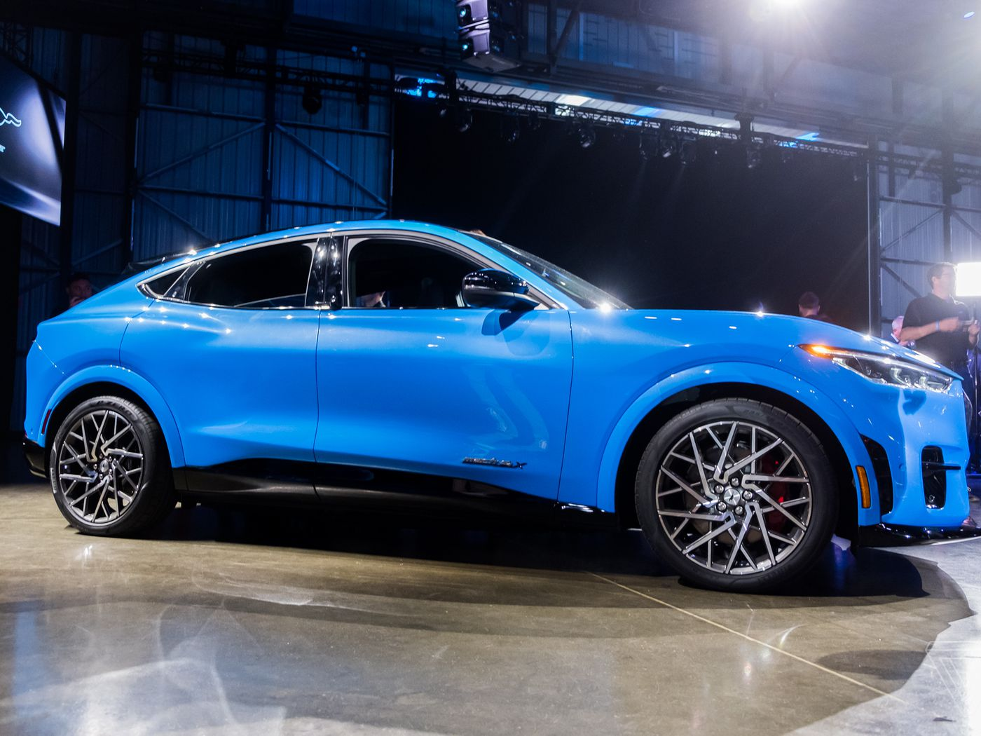Up Close With Ford S Electric Mustang Suv The Mach E The Verge