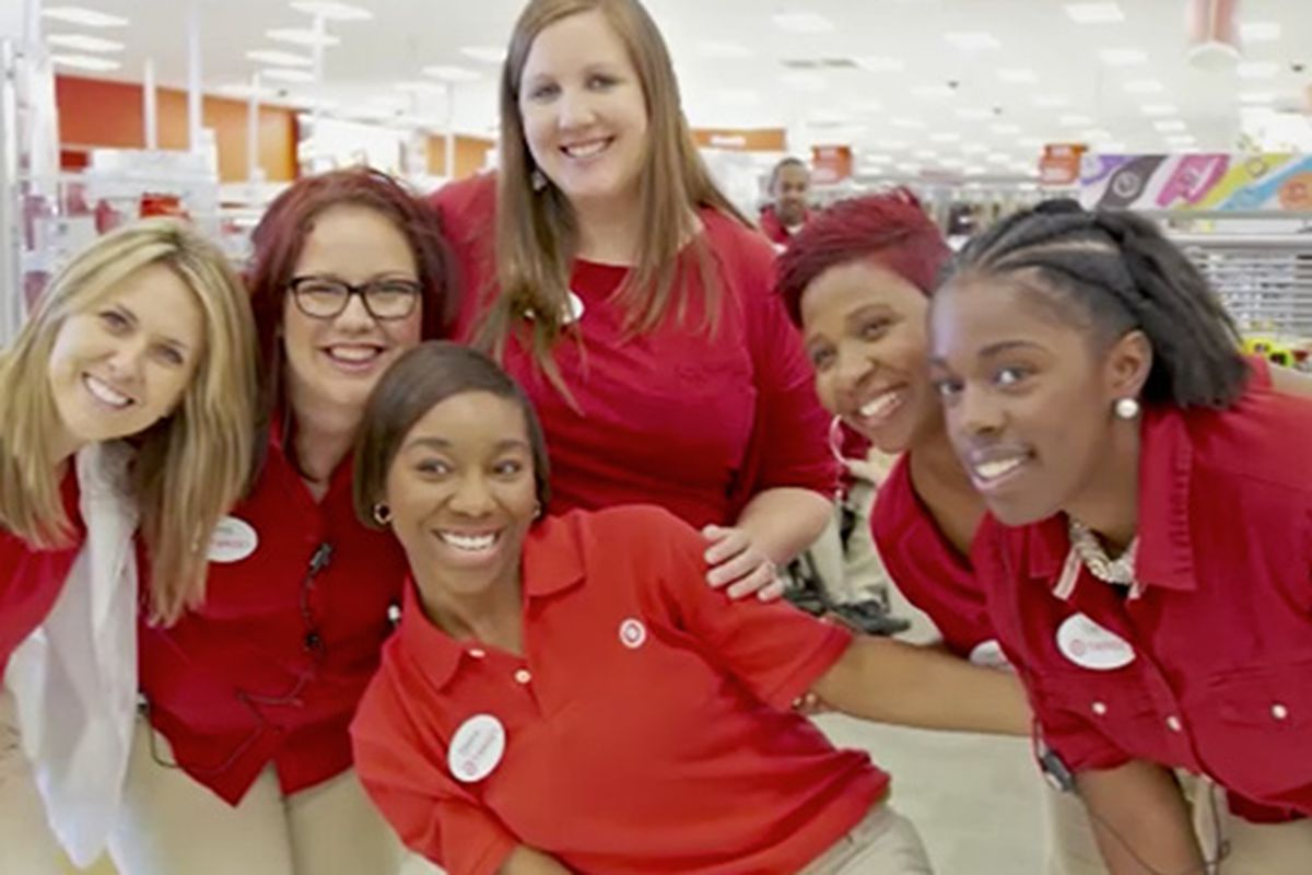 """Formula retail stores like Target would be required to comply with a new retail workers'  rights proposal. Image via <a href=""""https://corporate.target.com/careers/benefits/health-benefits"""">Target</a>."""