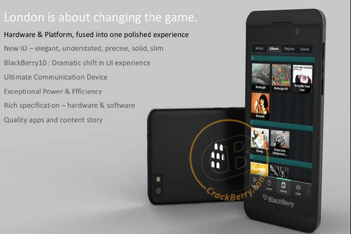 BlackBerry London (CrackBerry)