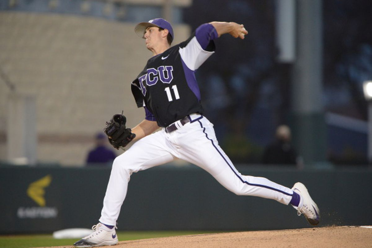 Dalton Horton pitched four shutout innings last Tuesday against UT Rio Grande Valley