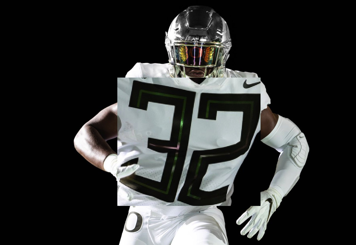 new arrival 0a743 b4522 Oregon's new uniforms are fresh, but have hilarious numbers ...